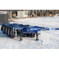 Низкорамный контейнеровоз облегченный Grunwald Gr-VCSt LLB4 4 axle (3+1)