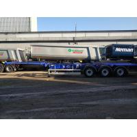 Низкорамный полуприцеп контейнеровоз Grunwald VCSt LB